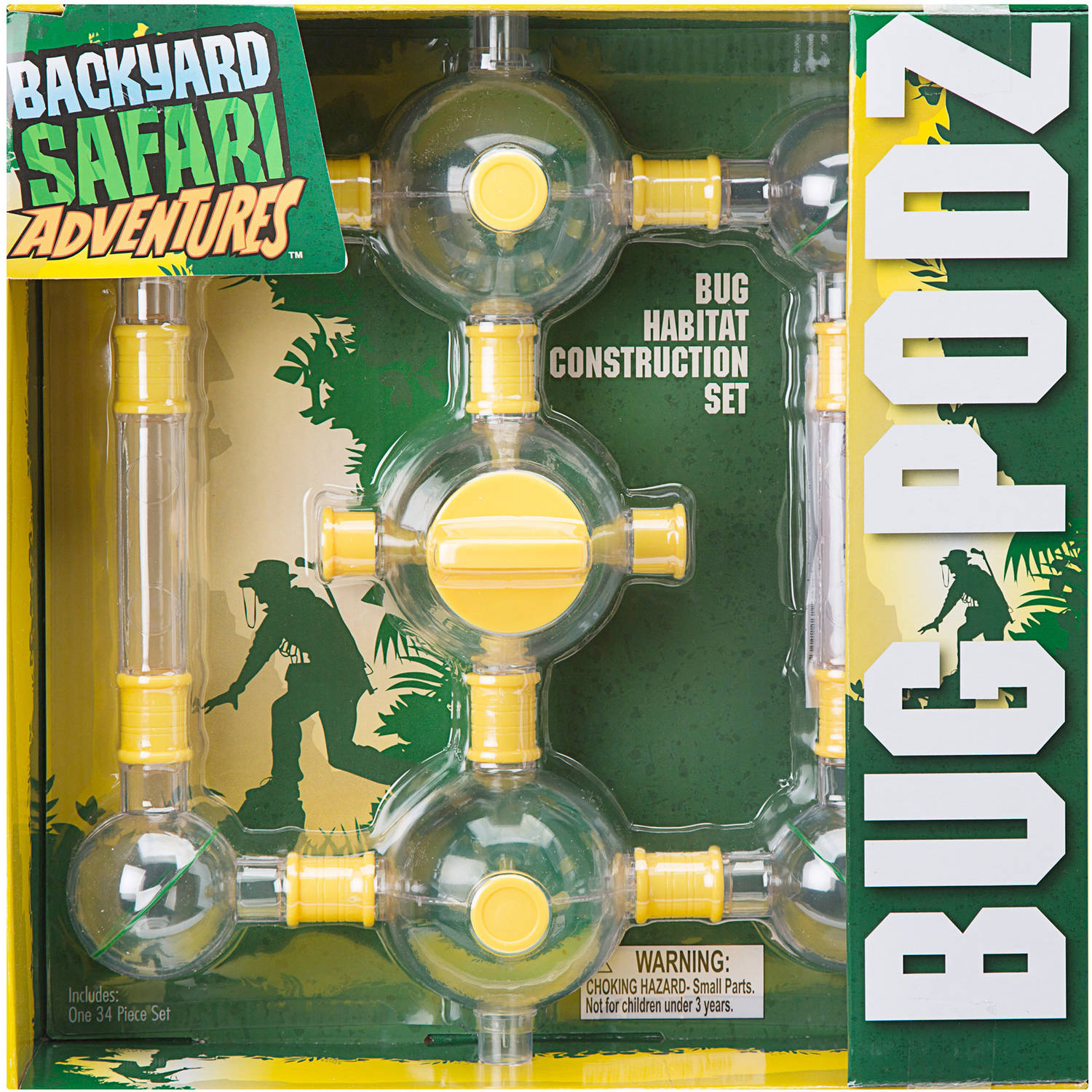 Backyard Safari Bug Habitat backyard safari bug podz - walmart