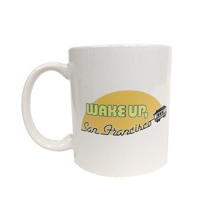 Wake Up San Francisco Coffee Mug Full House Talk TV Show