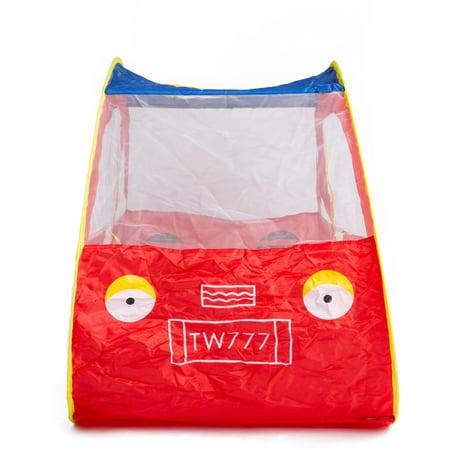 Fun Zone Play Tent - Kayata Car-Shaped Children's Fun Playhouse Tent