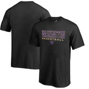 Washington Huskies Fanatics Branded Youth True Sport Basketball T-Shirt - Black