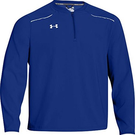 Under Armour Mens Team Ultimate Long Sleeve Cage Jacket Small Royal/White