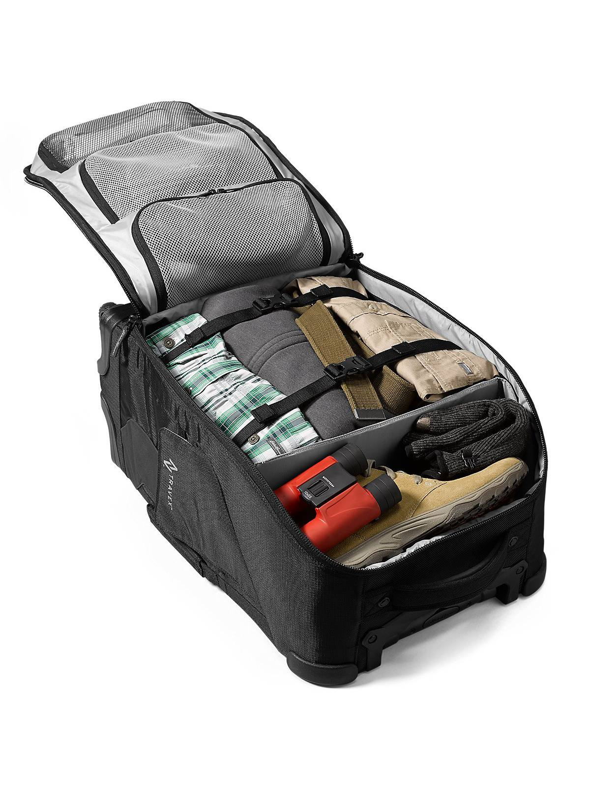 Eddie Bauer Unisex-Adult Travex Voyager 2.0 Rolling Bag 866d8f1cfeaf2