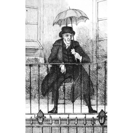 Umbrella 19th century nthe duke of queensbury at his for Balkoni in english