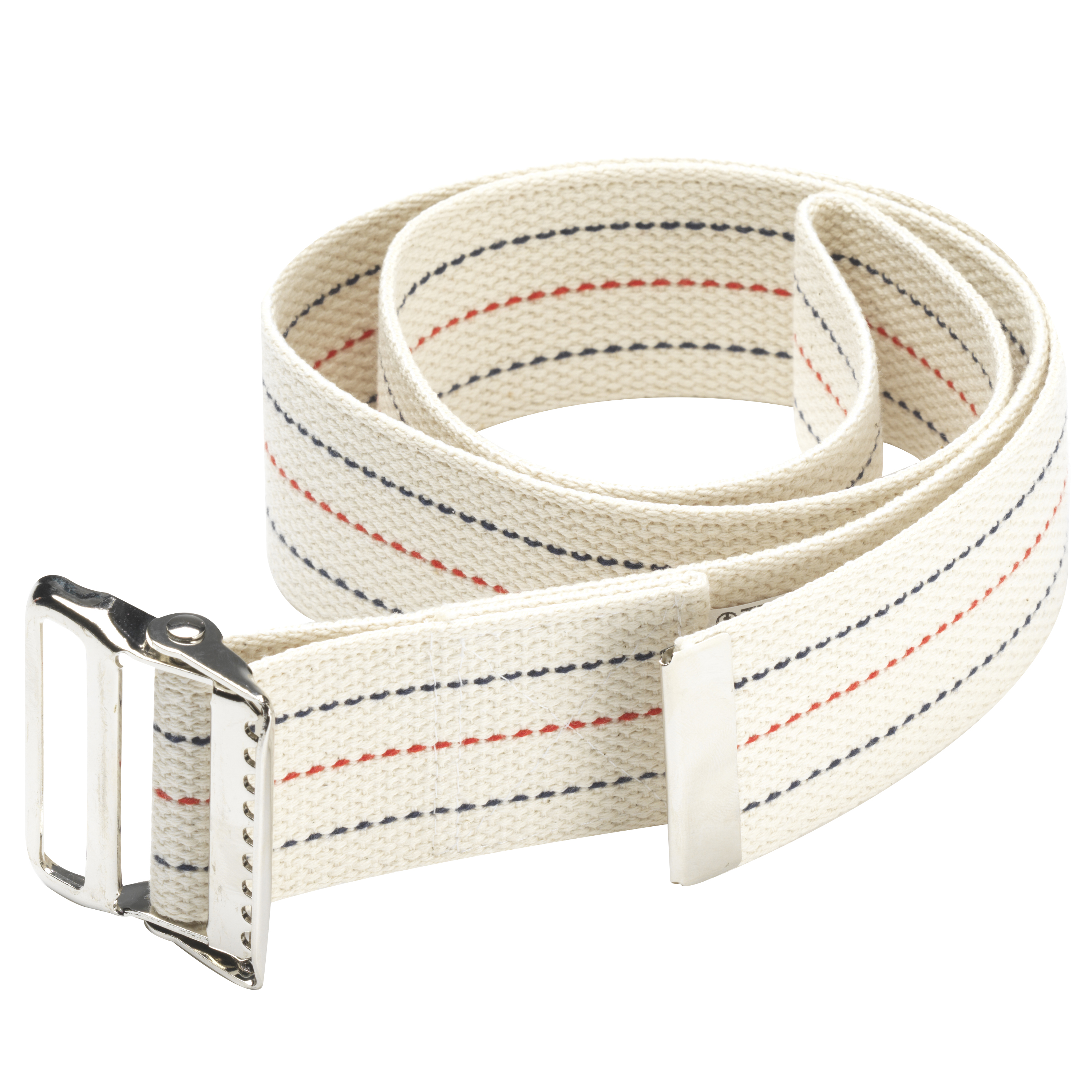 "OTC Gait Transfer Belt, White, 48"" length"