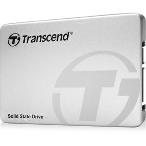 Transcend TS256GSSD370S 256GB 2.5 Solid State Drive, SATA III 6GB/s Synchronous MLC Nand Flash Memory, Aluminum / Silver Casing