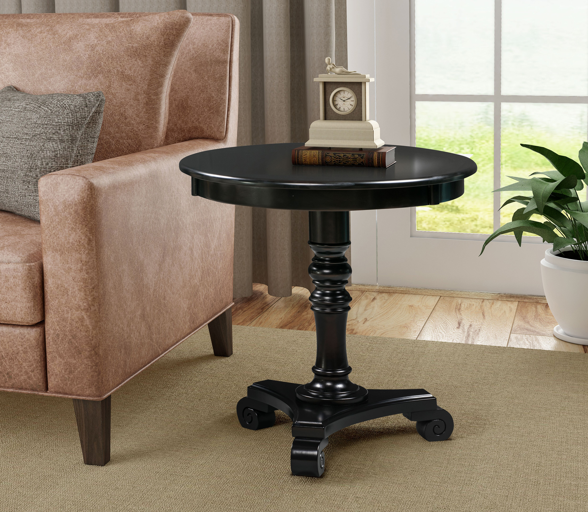 Convenience Concepts Classic Accents Talbot End Table, Multiple Finishes by Convenience Concepts Inc