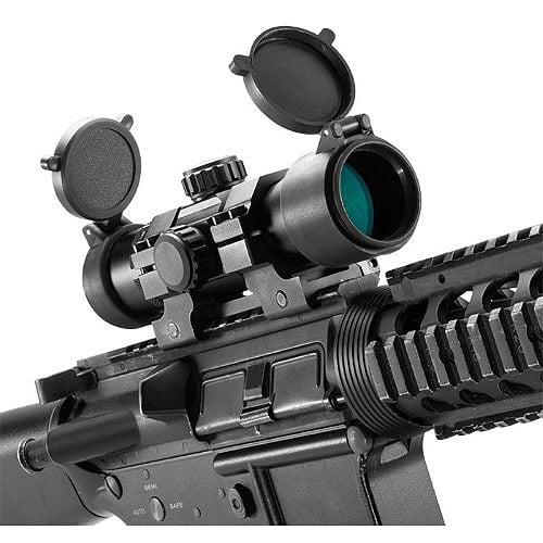 "Barska 1x30mm 7"" Tactical Long Red Dot Scope"