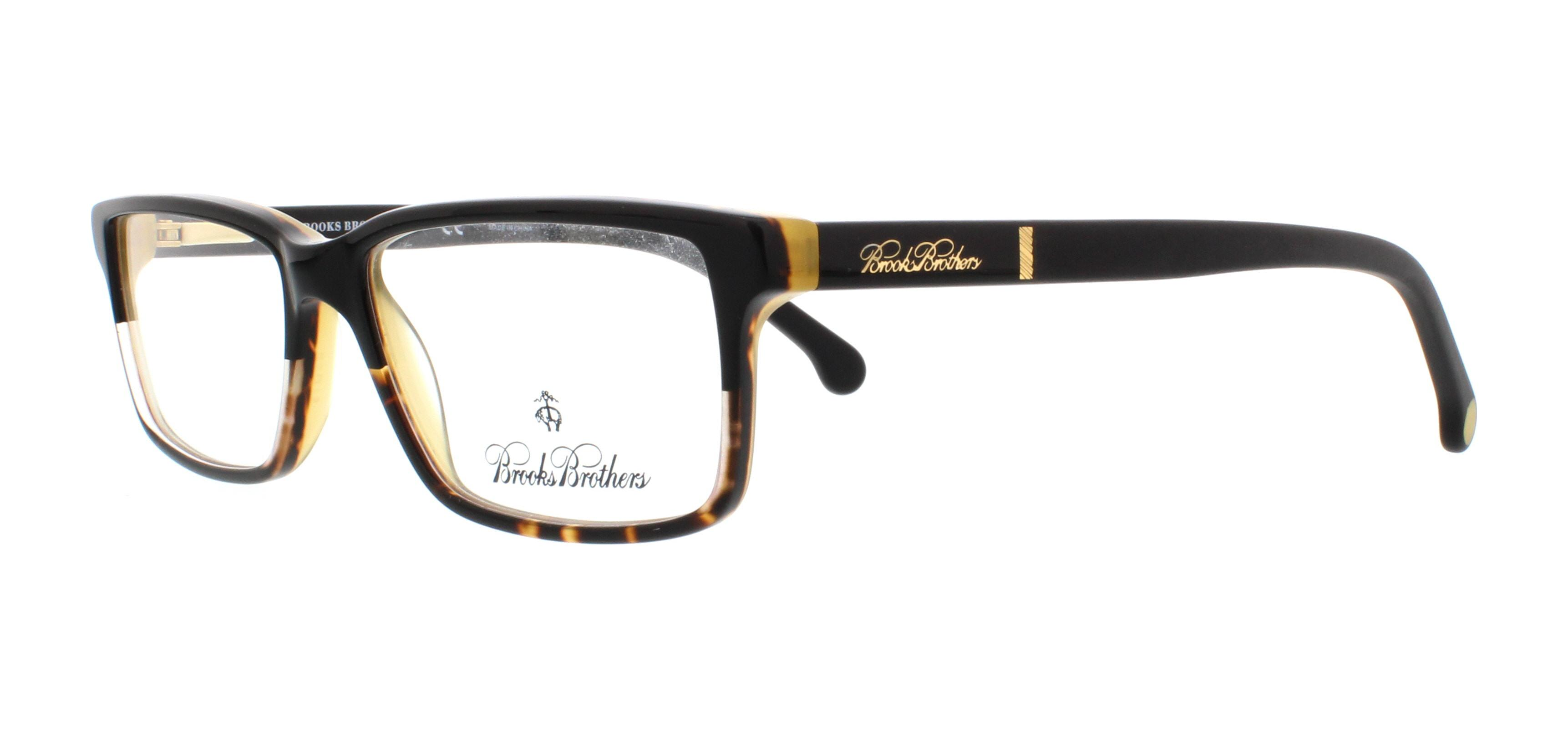 be8bdd816a2 BROOKS BROTHERS Eyeglasses BB 2029 6099 Black Tortoise Matte Black Tortoise  53MM - Walmart.com