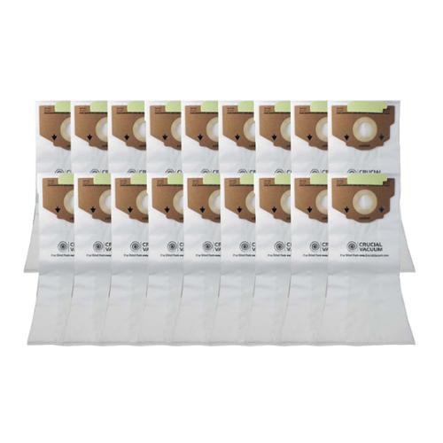 36 Eureka Style RR Allergen Paper Bags Part # 61115 63295A