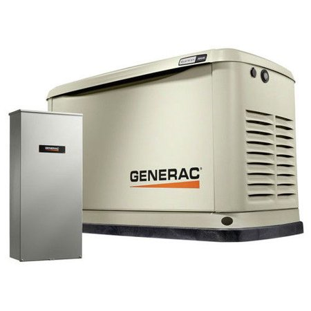 Generac Guardian Series 20/18kW Air-Cooled Standby Generator with Wi-Fi, Alum Enclosure, 200SE (1) - -