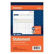 Adams 2-Part Carbonless Statement Record Book