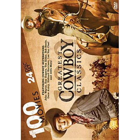 Image of 100 Greatest Cowboy Classics (DVD)