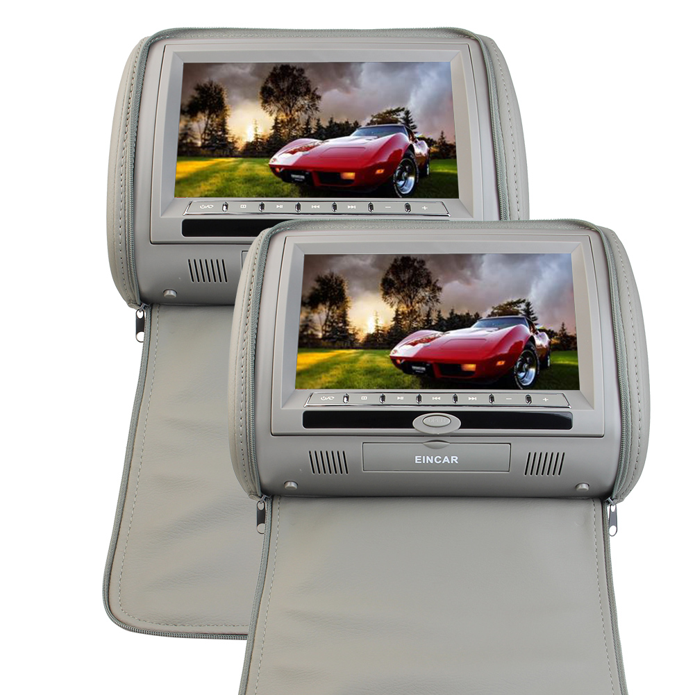 Eincar Car Headrest DVD Player 9-inch 800*480 LCD Screen ...