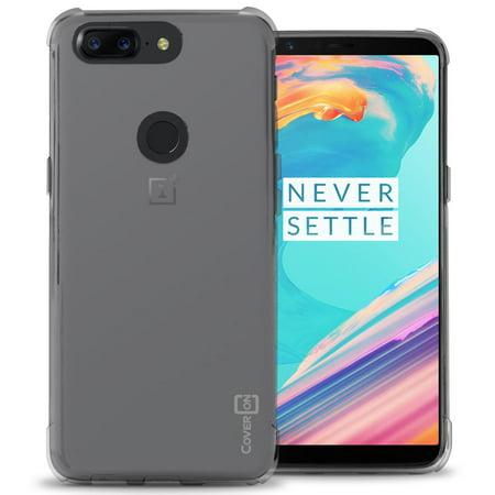 CoverON OnePlus 5T Case, FlexGuard Series Soft Flexible Slim Fit TPU Phone Cover