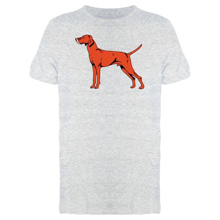 Shorthair Red Dog Tee Men's -Image by Shutterstock