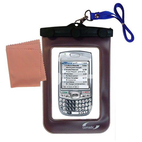Gomadic Clean and Dry Waterproof Protective Case Suitablefor the Palm Treo 680 to use Underwater