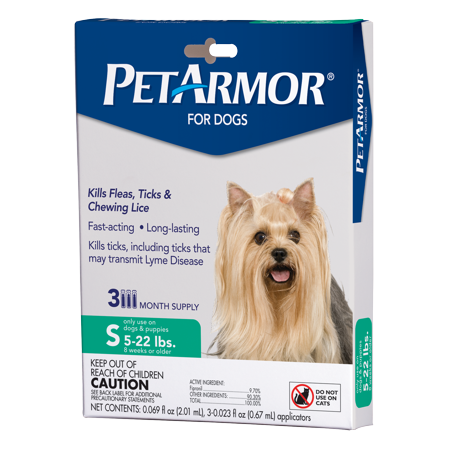 Petarmor Flea Amp Tick Prevention For Small Dogs With