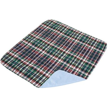 Essential Medical Supply Quik Sorb Plaid Quilted Underpad