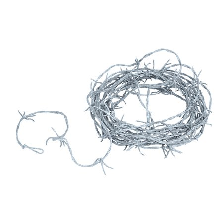 Silver Barbed Wire Garland Case Pack 12