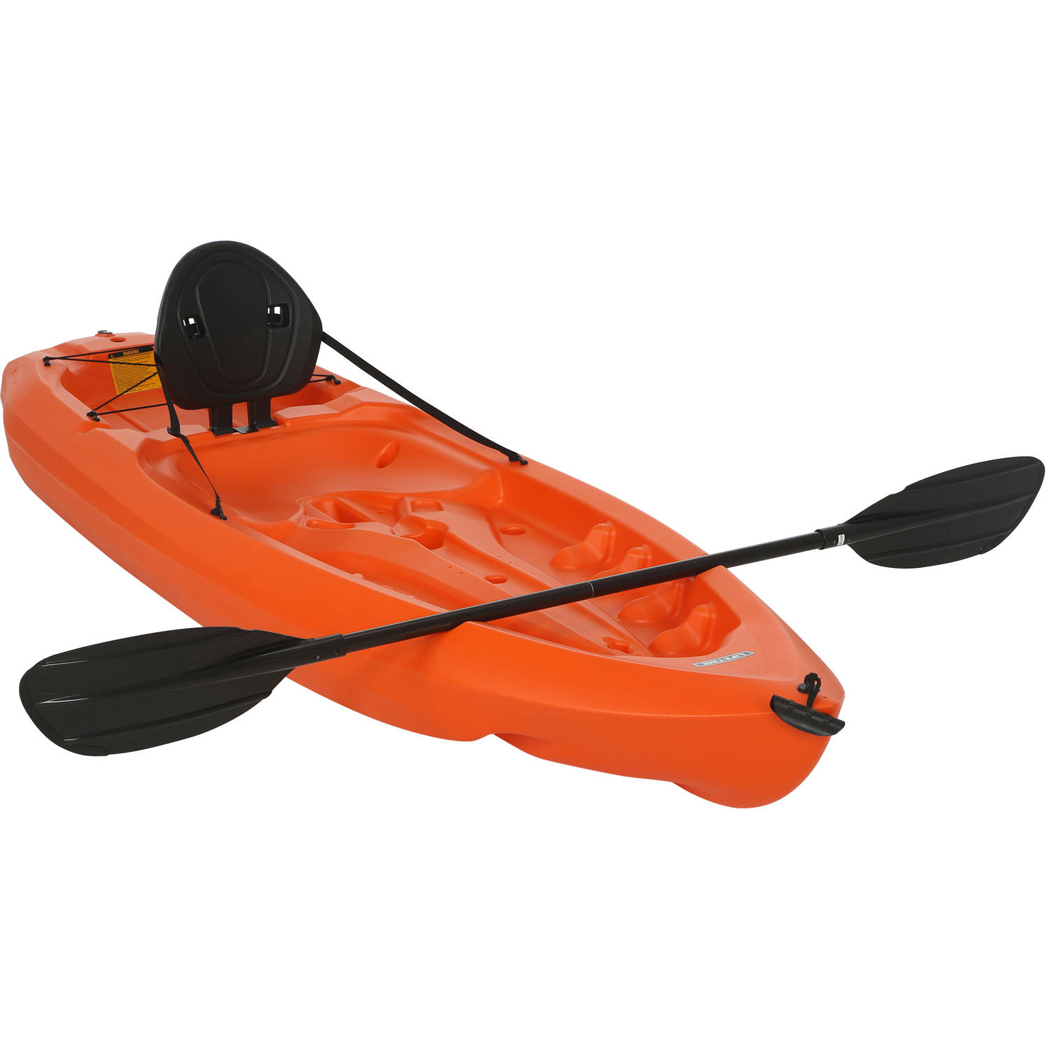 Lifetime 8' Daylite Kayak, Orange with Bonus Paddle