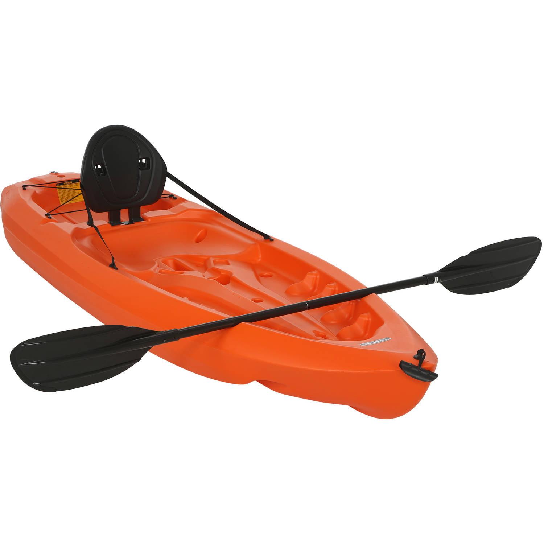 Lifetime 8' Daylite Kayak, Orange with Bonus Paddle