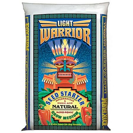 Foxfarm CUFT Light Warrior Seed Starter Mix Ultimate Grow Medium For Seed Starting &