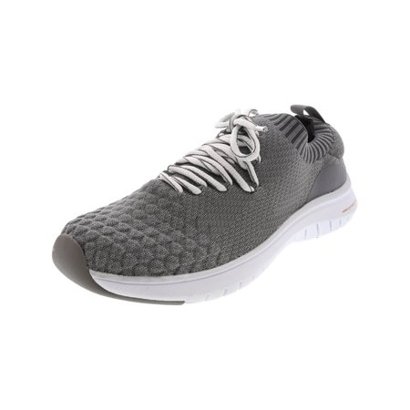 Copper Fit Pro Women's Spirit Lace Up Grey Ankle-High Fashion Sneaker - 6.5M