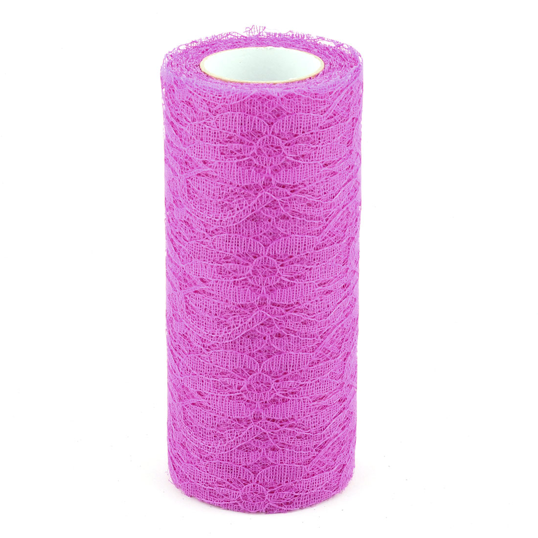Unique Bargains Family Tutu Gift Decor DIY Craft Tulle Spool Roll Purple 6 Inch x 10 Yards