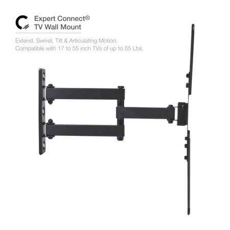 Expert Connect Tv Wall Mount 17 55 Inch Full Motion