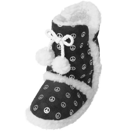 350894074f2 Brinley Co Girls Peace Pattern Toggle Accent Boots - Walmart.com