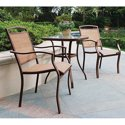 Mainstays Sand Dune 3-Pc. Bistro Set