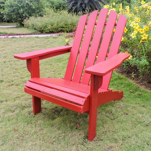 Loon Peak Maly Somerville Wood Adirondack Chair