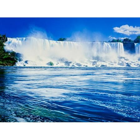 View of the American Falls, Niagara Falls, New York State, USA Print Wall Art](Halloween Niagara)