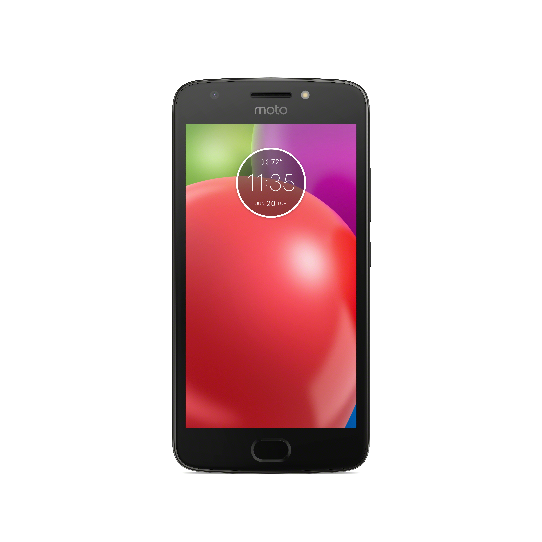 U.S. Cellular Motorola Moto E4 16GB Prepaid Smartphone, Black