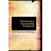Elementary Accounting Problems Paperback