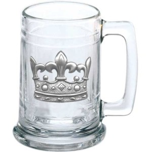 Mardi Gras Crown Stein