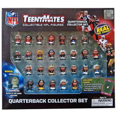 NFL TeenyMates Quarterbacks Boxed 27 Piece Mini Figure Set