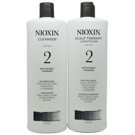 Nioxin Nioxin System 2 Cleanser Amp Scalp Therapy Liter