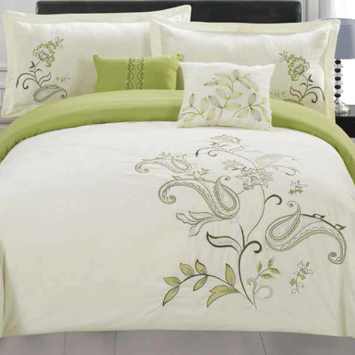 5-Piece Jordana Embroidered Comforter Set