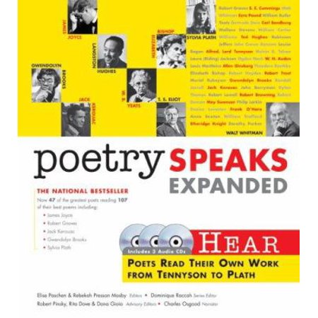 Poetry Speaks  Hear Poets Read Their Own Works From Tennyson To Plath