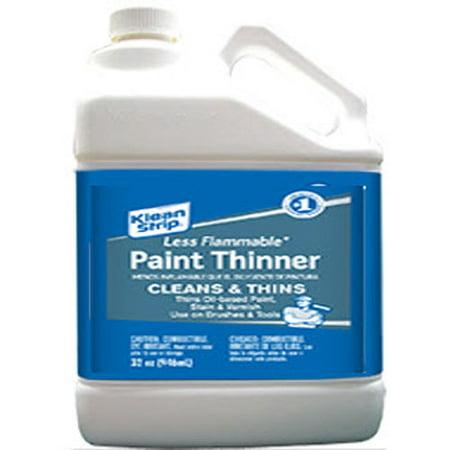 Klean Strip Paint Thinner Less Flammable Gallon
