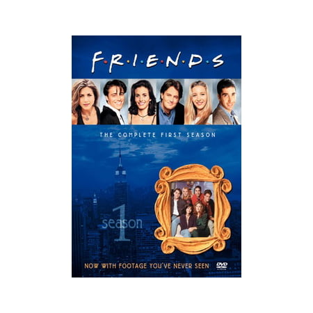 Friends: The Complete First Season (DVD) (Friends Dvd Season 1)