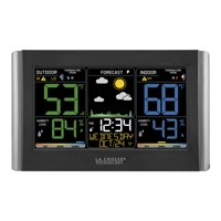 La Crosse Technology C85845 Wireless Forecast Station with Colored LCD Display