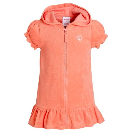 Sportoli Girls Cotton Warm Short Sleeve Terry Beach