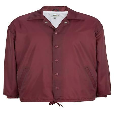 Orange Travel Jacket - Edwards Garment Coach's Jacket, Style 3430