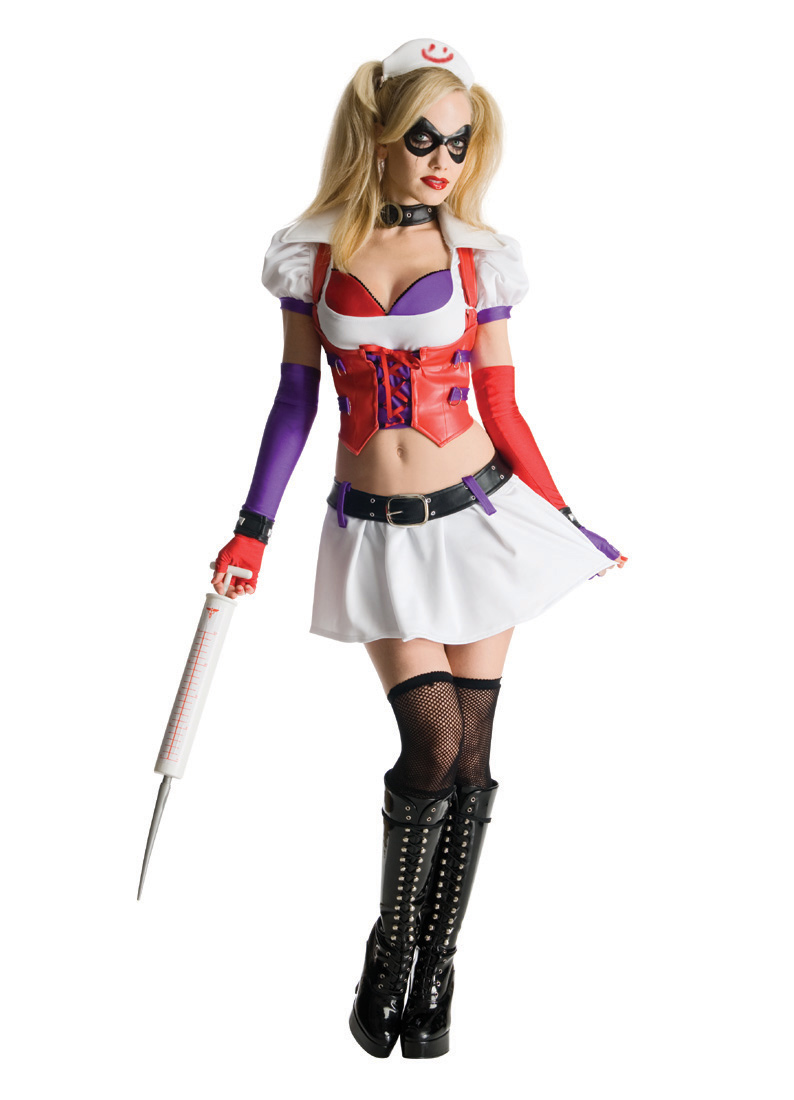 Adult Batman Harley Quinn Costume Rubies 880587