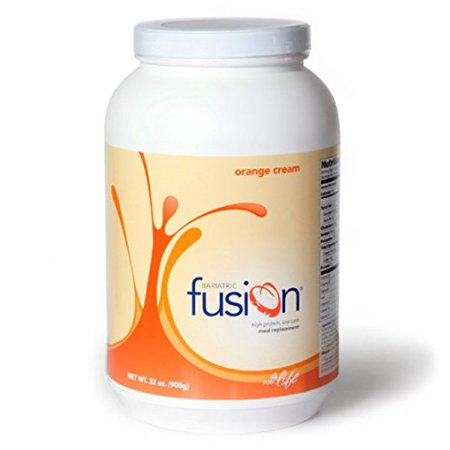 Bariatric Fusion Meal Replacement Protein 2lb Tub Orange Cream for Gastric Bypass & Sleeve
