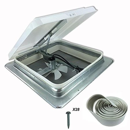 Heng S 14 Rv Camper Trailer Universal White Roof Vent W