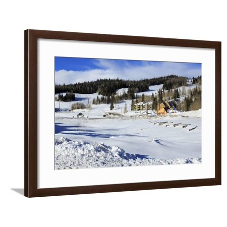 Brian Head Ski Resort, Utah, United States of America, North America Framed Print Wall Art By Richard Cummins