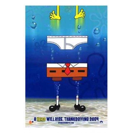 Spongebob Squarepants Movie Movie Poster  11 X 17